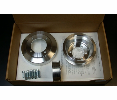 March/Mopar Magnum Billet Pulley Set - (7 Left)