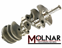 "Molnar Crankshaft - Chrysler Gen III Hemi w/ 2.100"" Rod Pins  NHRA Approved"