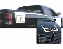 Mopar Hemi Hockey Stick Graphics Kit - Black