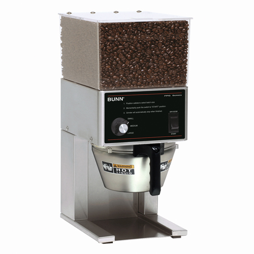 Quietest Coffee Maker With Grinder : BUNN FPG, SST - 120V