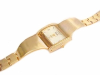 Dressy Band 8 Inch Plus Size Watch with Accents