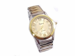 Men's Plus Size Watch Two Tone Style 78