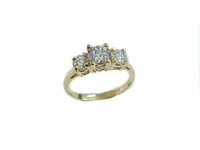 14k Gold Engagement Ring Size 13