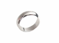 Plus Size Ring Stainless Steel Plain or Wedding Band