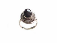 Sterling Silver Black Onyx Size 12 and Size 13