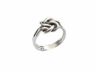 Plus Size Ring Sterling Silver Large Celtic Knot