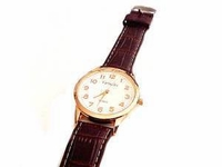 Plus Size Watch-Men's Rose Gold Rim
