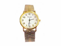 Plus Size Watch-Men�s Stretch Two Tone Easy Read-Style 74