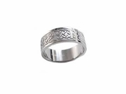 Stainless Steel Plus Size Ring Thumb Ring or Wedding Band