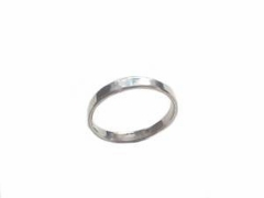 Sterling Silver Plus Size Ring Thin Band Thumb Ring