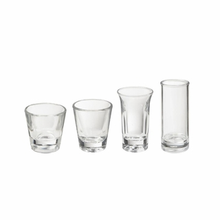 ACRYLIC SHOOTER AND SHOT GLASSES
