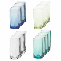 Acrylic Tumbler Set of 6
