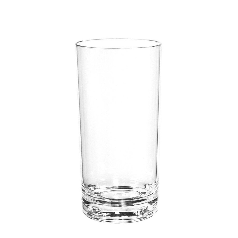 Sonoma classic unbreakable tritan bpa free plastic highball for Glass or acrylic