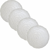 Glacier Frosted-Look  Dinner Plate - Set/4