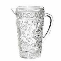 Paisley Clear Acrylic Pitcher