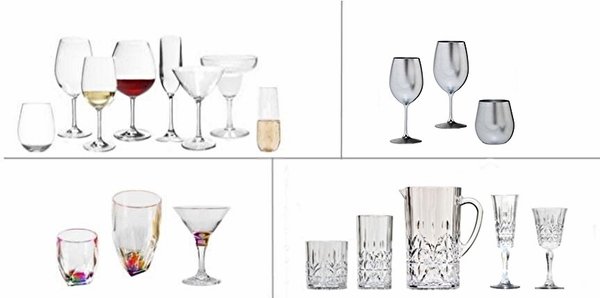 ACRYLIC AND UNBREAKABLE TRITAN™   DRINKWARE BY COLLECTION