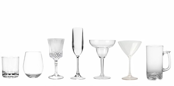 ACRYLIC & UNBREAKABLE DRINKING GLASSES BY SHAPE & FUNCTION