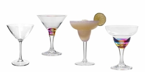 Martini and Margarita Glasses