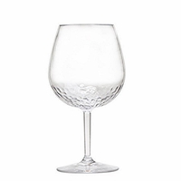 Sonoma Hammered Unbreakable Classic Bubble Wine Glass - Set/4