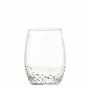 Sonoma Hammered Unbreakable Small Stemless Wine Glass - Set/4