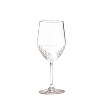 Sonoma Hammered Unbreakable Classic White Wine Glass - Set/4
