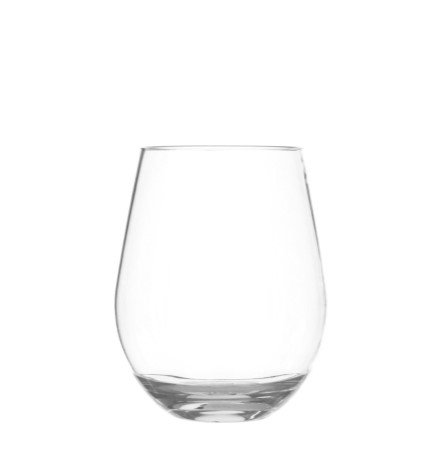 sonoma classic clear unbreakable 16 oz stemless wine set4 - Plastic Stemless Wine Glasses
