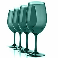 Sonoma Unbreakable Classic Wine Glass (Green) - Set/4
