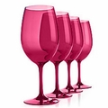 Unbreakable Classic Wine Glass (Red) - Set/4