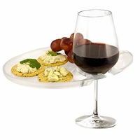 Wine 'N Dine Party Plates Clear - Set of 4