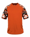 2141 Badger Youth Camo Sport Tee