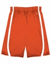 "2244 Badger Youth B-Slam Reversible 6"" Short With Contrast Side Panel Trim."