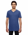 3.2 oz. Featherweight Short-Sleeve V-Neck T-Shirt: (352)