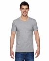 4.7 oz., 100% Sofspun™ Cotton Jersey V-Neck T-Shirt: (SFVR)