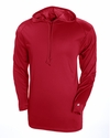 4105 Badger Adult B-Core Long-Sleeve Performance Hooded Tee