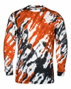 4185 Badger Adult Tie Dri Sublimated Long Sleeve Tee
