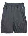 "4319 Badger Adult Heathered 10"" Performance Shorts"