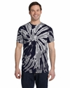5.4 oz., 100% Cotton Twist Tie-Dyed T-Shirt: (CD110)