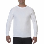 5.5 oz. Ringspun Garment-Dyed Long-Sleeve T-Shirt: (C5014)