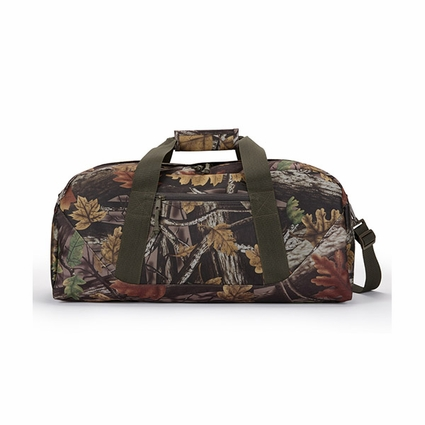 Sherwood Camo Large Duffle: (5563)