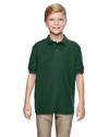 DryBlend® Youth 6.3 oz. Double Piqué Sport Shirt: (G728B)