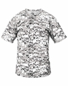 7980 Badger Adult Two-Button Placket Digital Camo Jersey