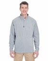 Men's Cool & Dry Full-Zip Micro-Fleece: (8185)