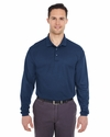 Adult Cool & Dry Long-Sleeve Mesh Piqué Polo: (8210LS)