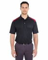 Adult Cool & Dry 2-Tone Mesh Piqué Polo: (8215)