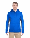 Adult Cool & Dry Sport Hooded Pullover: (8231)