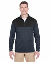 Adult Cool & Dry Sport Color Block 1/4-Zip Pullover: (8233)