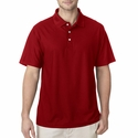 Men's Cool & Dry Pebble-Knit Polo: (8240)