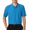 Men's Cool & Dry Box Jacquard Performance Polo: (8250)
