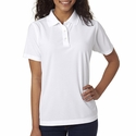 Ladies' Cool & Dry Box Jacquard Performance Polo: (8250L)
