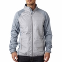Adult Cool & Dry Quilted Front Full-Zip Lightweight Jacket: (8292)
